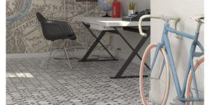Płytki patchworkowe w salonie